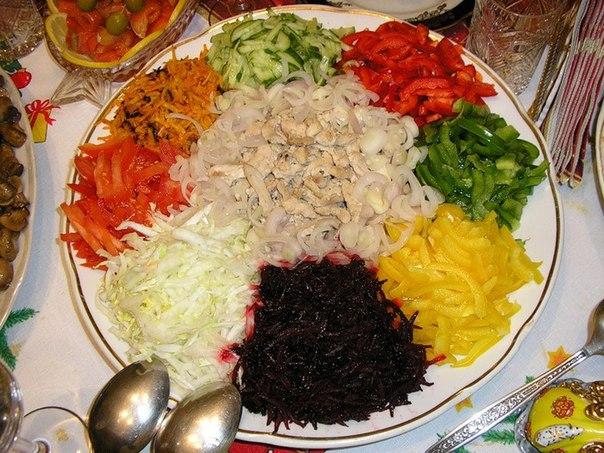 калейдоскоп салат рецепт с фото