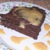 Бисквитно-шоколадные оладьи