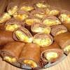 Блинчики из печени с начинкой
