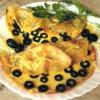 Блинчики с сыром и маслинами