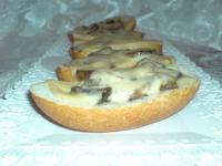 Булочки с грибами