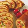 Бутерброд-рулет с мясом и сыром