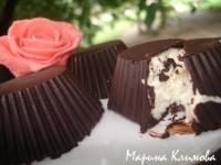 Домашние сырочки в шоколаде