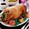 Фаршированная овощами утка