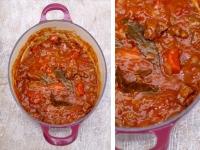 Говяжий язык в томатном соусе