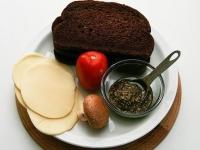 Итальянский бутерброд – гриль с сыром