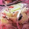 Капуста консервированная с фруктами