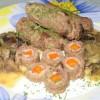 Крученики с салом и морковью