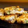 Куриные оладьи с кукурузой и фасолью