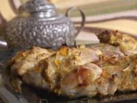 Курица с хурмой