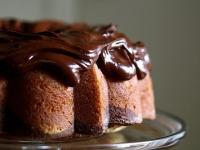 Мраморный торт с фундуком