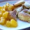 Омлет с абрикосами