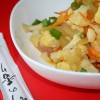 Овощи в кисло-сладком имбирном соусе