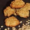 Овсяное печенье с мандарином и кедровыми орешками.