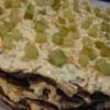 Печеночно-гречневый торт