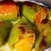 Перцы, фаршированные яблоками и сухофруктами