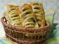 Пирожки со шпинатом