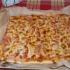 Пицца с ветчиной и карбонадом