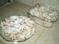 Рогалики с ореховой начинкой:
