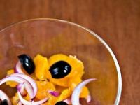 Салат из лука и апельсинов