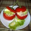 Салат Тунец в помидоре