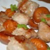 Шашлычки из грудки индейки и абрикосов