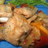 Щучка с овощами