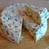 Сыр с зеленью и тмином