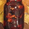 Сливовое варенье с грецкими орехами и корицей