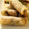 Спринг-роллы с луком и грибами рецепт