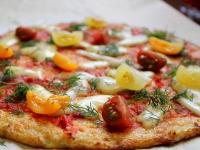 """""""Тесто"""" для пиццы из цветной капусты"""
