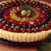 Торт из риса с фруктами