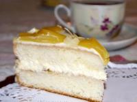 Торт «Миндально-персиковый блюз» (часть 1)