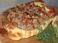 Турецкая пицца Kimali Pide
