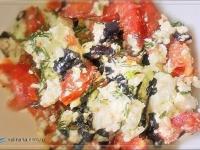 Творожный салатик