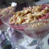 Творожно – ягодный десерт