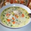 Украинский суп с галушками