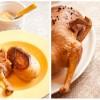 Утка с яблочным соусом