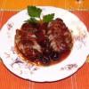 Утка в вишнёвом соусе