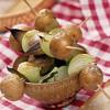 Вегетарианский картофельный шашлык