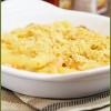 Запечёные макароны с креветками и сыром