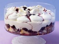 Зимний ягодный десерт